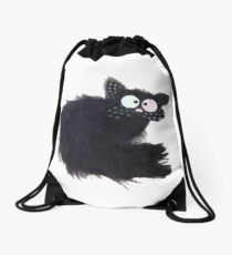 Tommy the cat Drawstring Bag