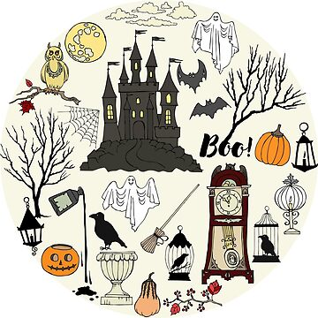 Halloween decorations by piacheva