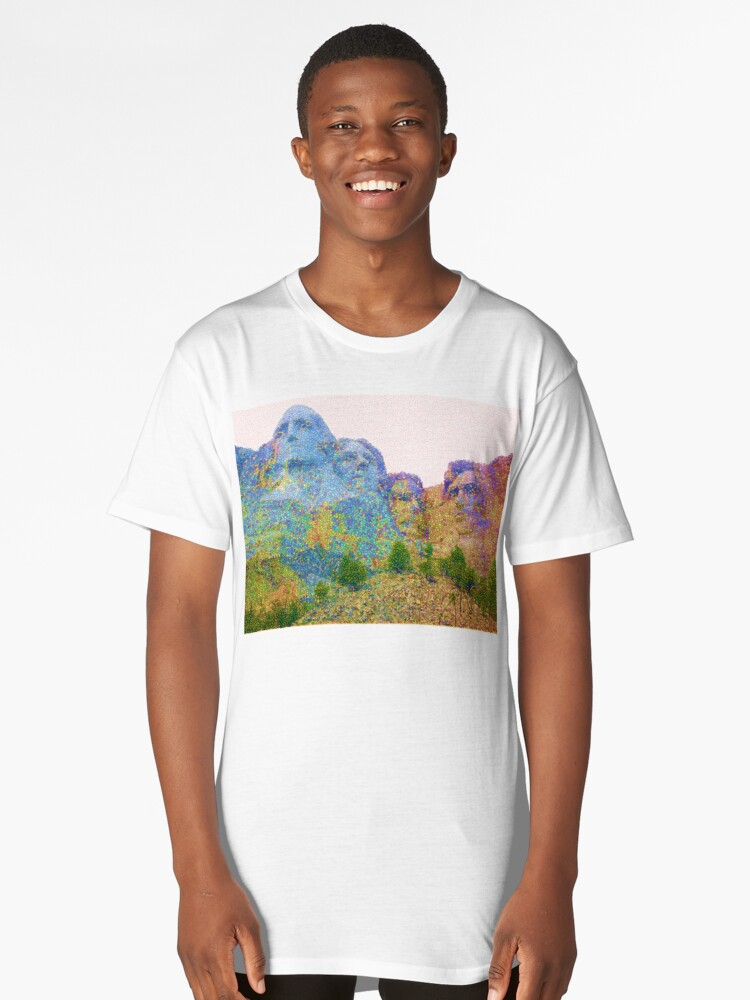 Inked Gumball Mt. Rushmore Long T-Shirt Front