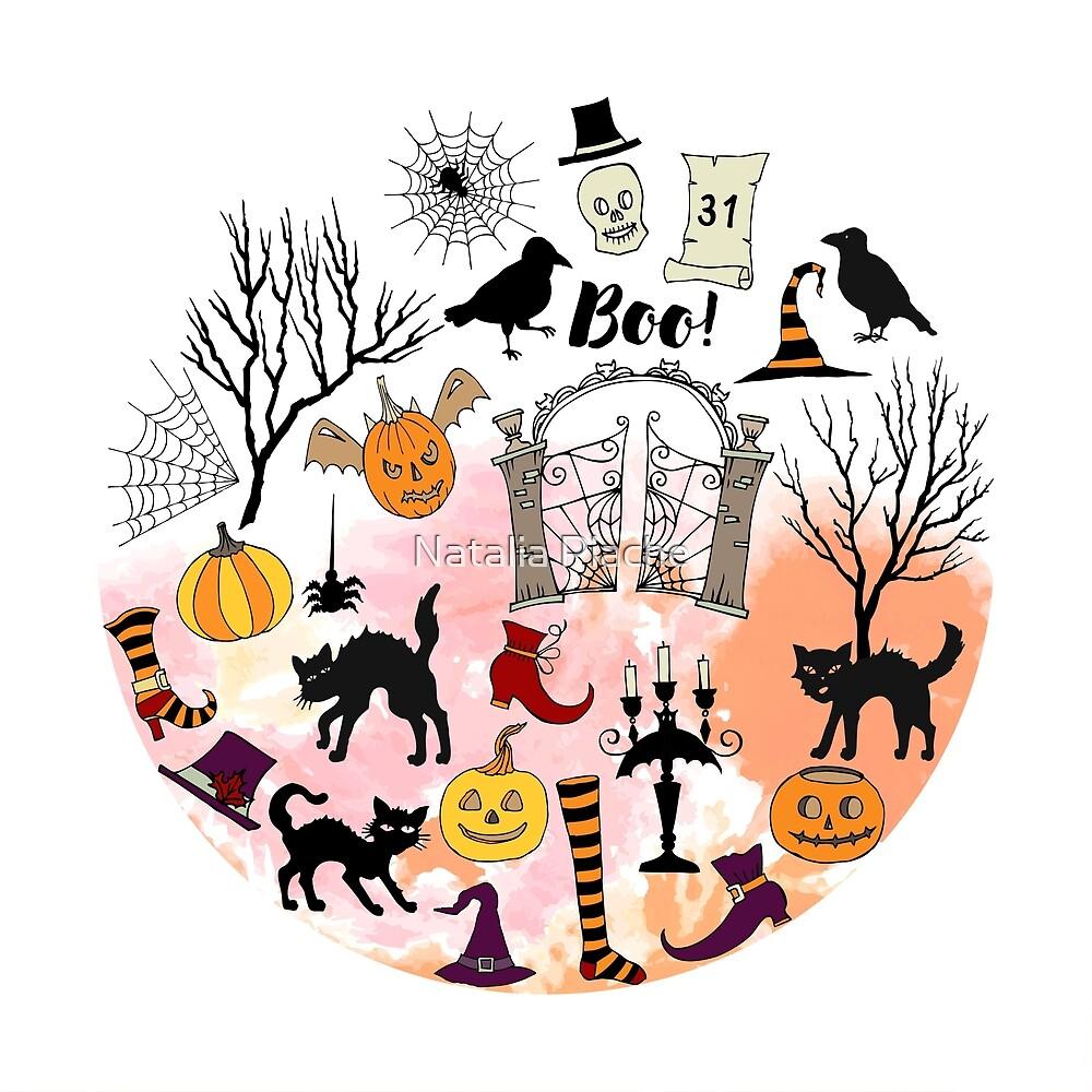 Halloween decorations by Natalia Piache