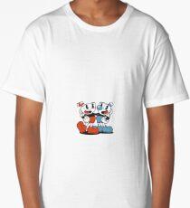 Cuphead and Mugman Classic Stanard Pose Long T-Shirt