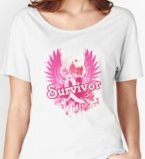 Breast Cancer Awareness Survivor Gifts Women's Relaxed Fit T-Shirt