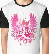 Breast Cancer Awareness Survivor Gifts Graphic T-Shirt