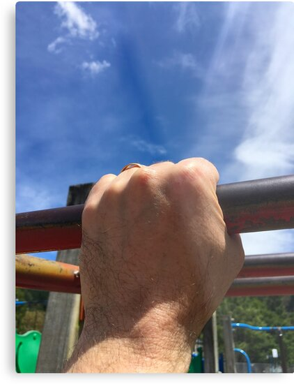 Hand On The Playground by Michael McGimpsey