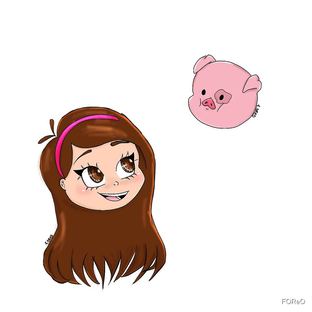Mabel and Waddles by FOReO