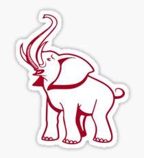 Delta Elefant Sigma Rot Theta 2 Sticker