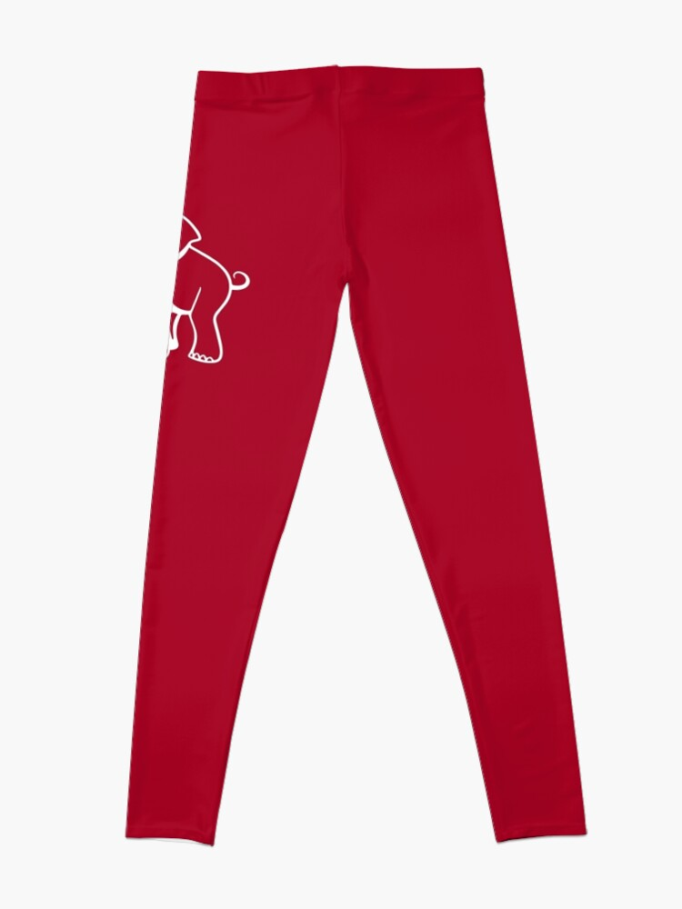 Alternative Ansicht von Delta Elefant Sigma Rot Theta 2 Leggings
