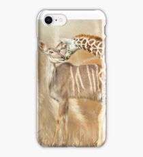 Spots and Stripes - Giraffe - Antelope iPhone Case/Skin