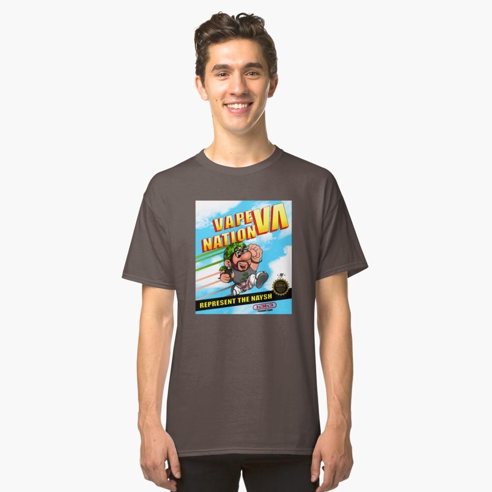 Super Vape Bros Classic T-Shirt Front