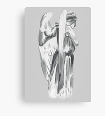 Weeping angel - Doctor Who Canvas Print