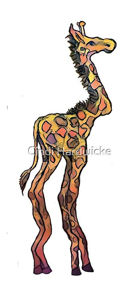 Gi Gi Giraffe Solo by Cindi Hardwicke