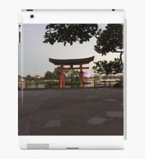 Good Morning Epcot iPad Case/Skin