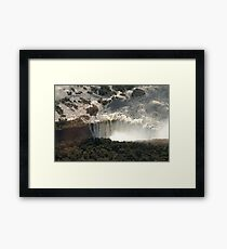 Victoria Falls from the Air 2 Framed Print