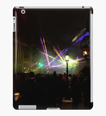 Laser in the New Year iPad Case/Skin