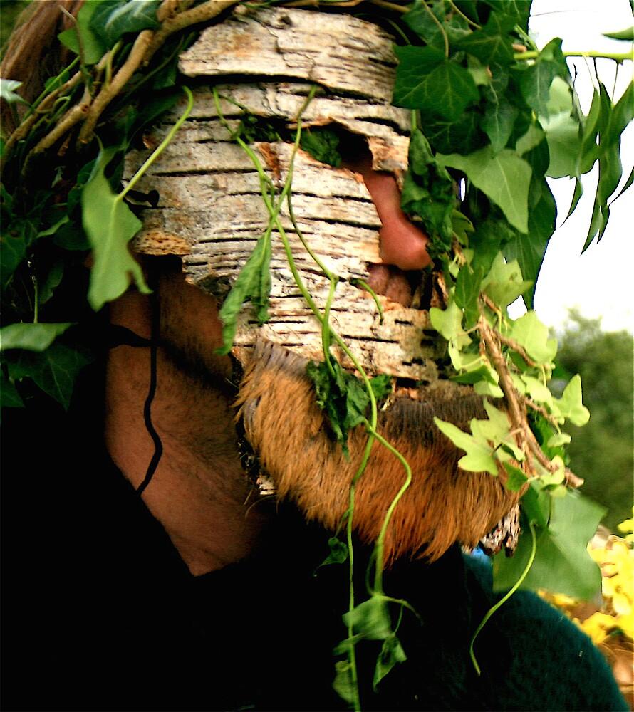 Green man Lugnassadh 08 by Amanda Gazidis