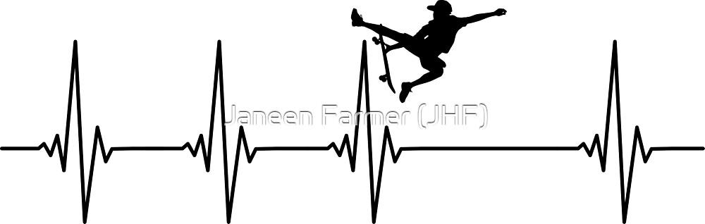 Can't Beat Skateboarding by Janeen Farmer (JHF)