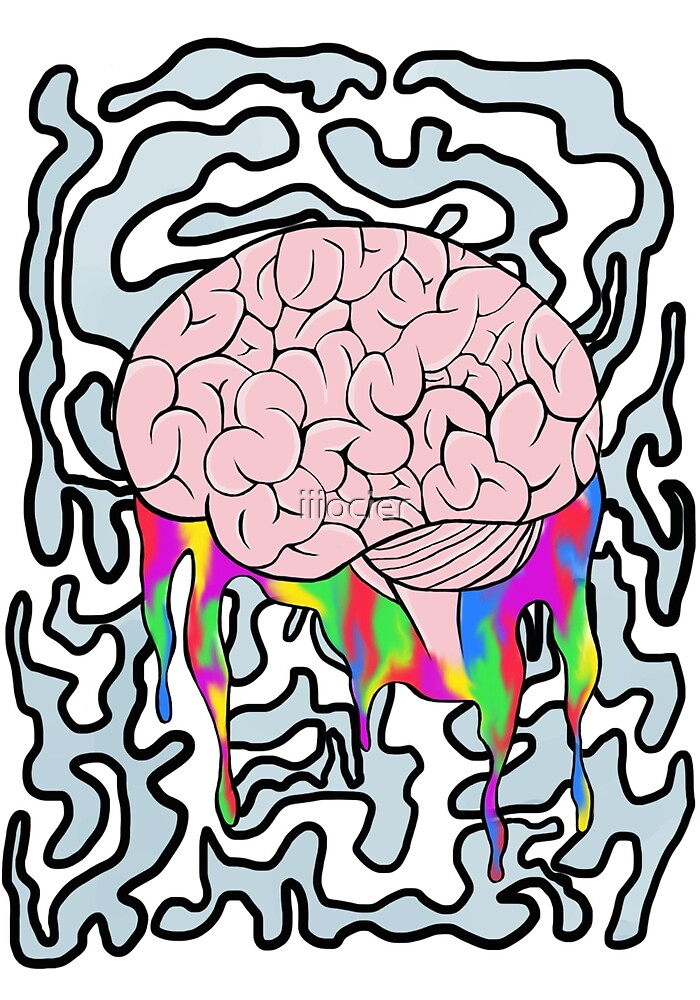 melting brain by iiiocier