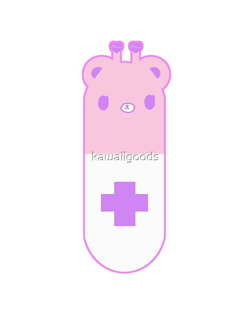 Bear Pill by kawaiigoods