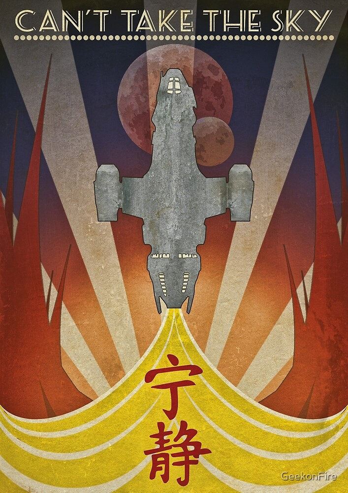 Firefly - Art Deco by GeekonFire