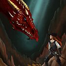 The dragon and the sword by Nicole Cadet