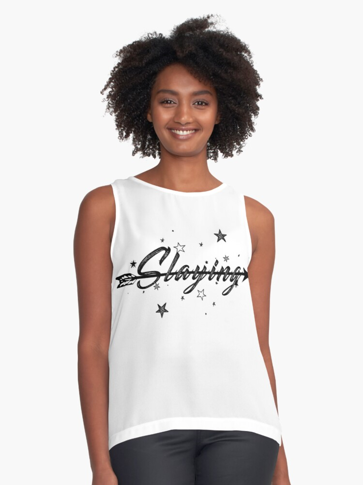 Slaying Contrast Tank Front
