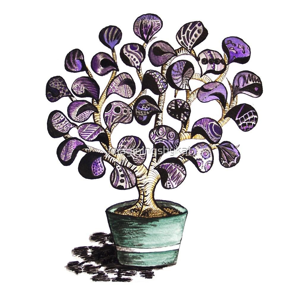 Purple Shrub by imaginingsbykat