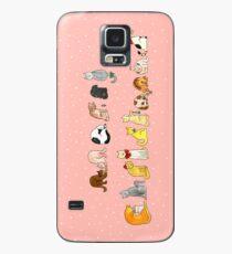 Ye Ol' Merry Christmas Kitty's Case/Skin for Samsung Galaxy