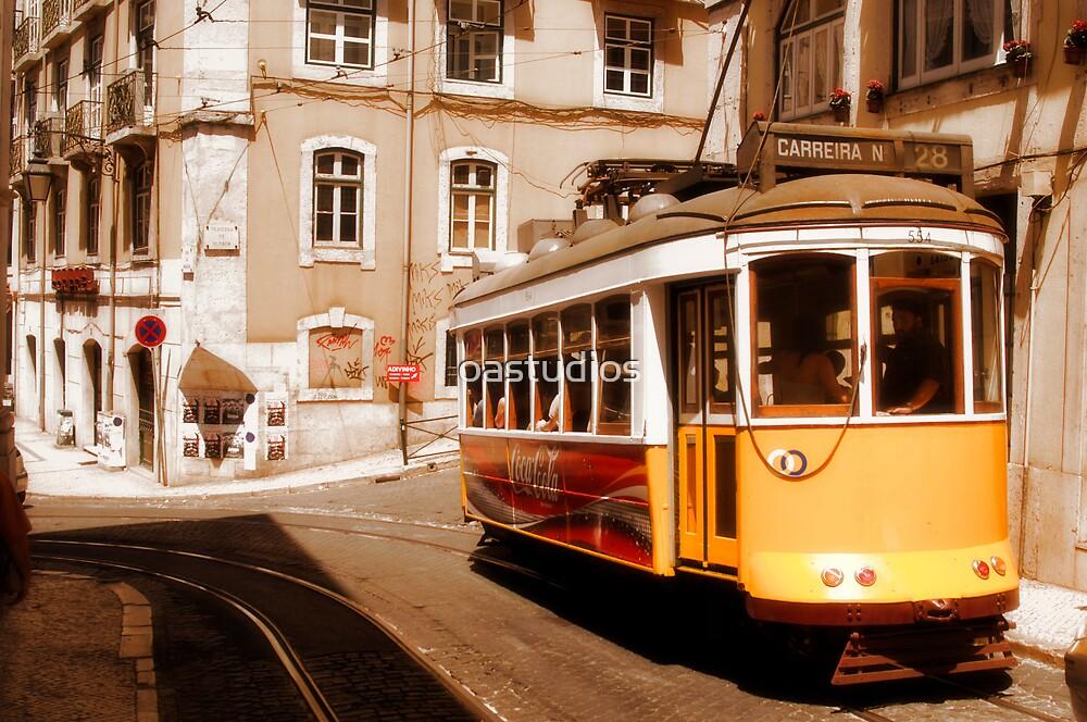 Lisbon Trolley by oastudios