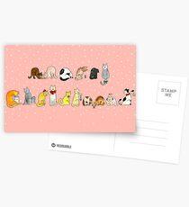Ye Ol' Merry Christmas Kitty's Postcards