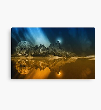 Tranquility Island. Canvas Print