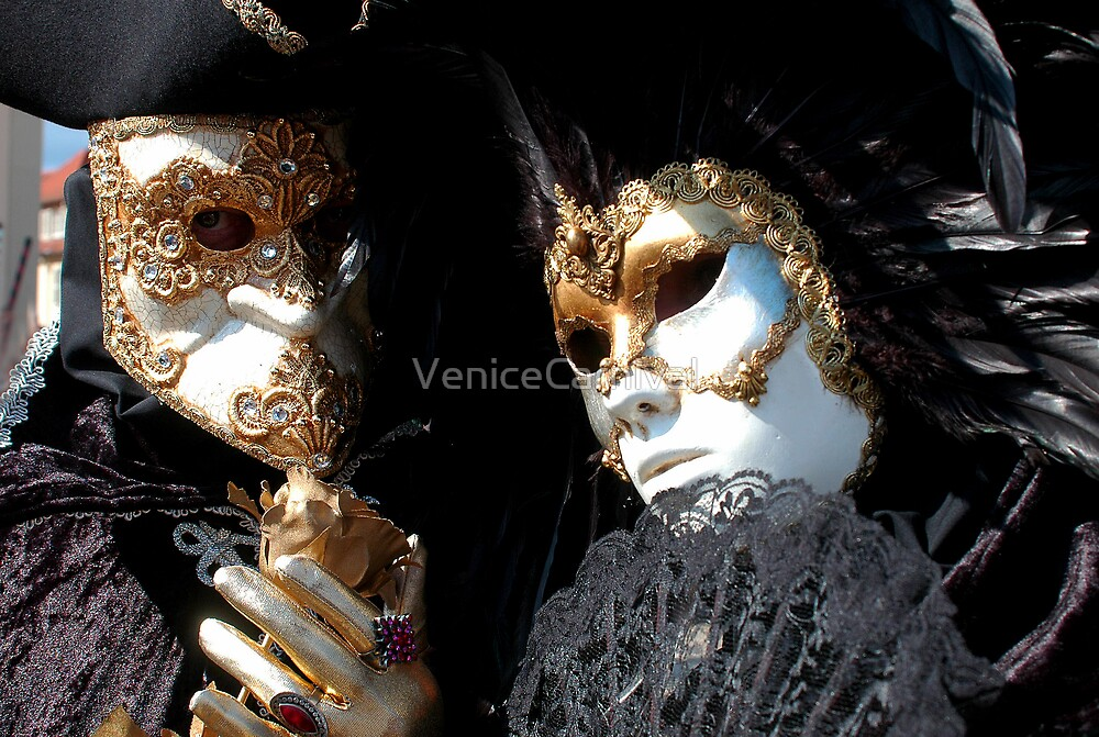 Black and Gold together by VeniceCarnival