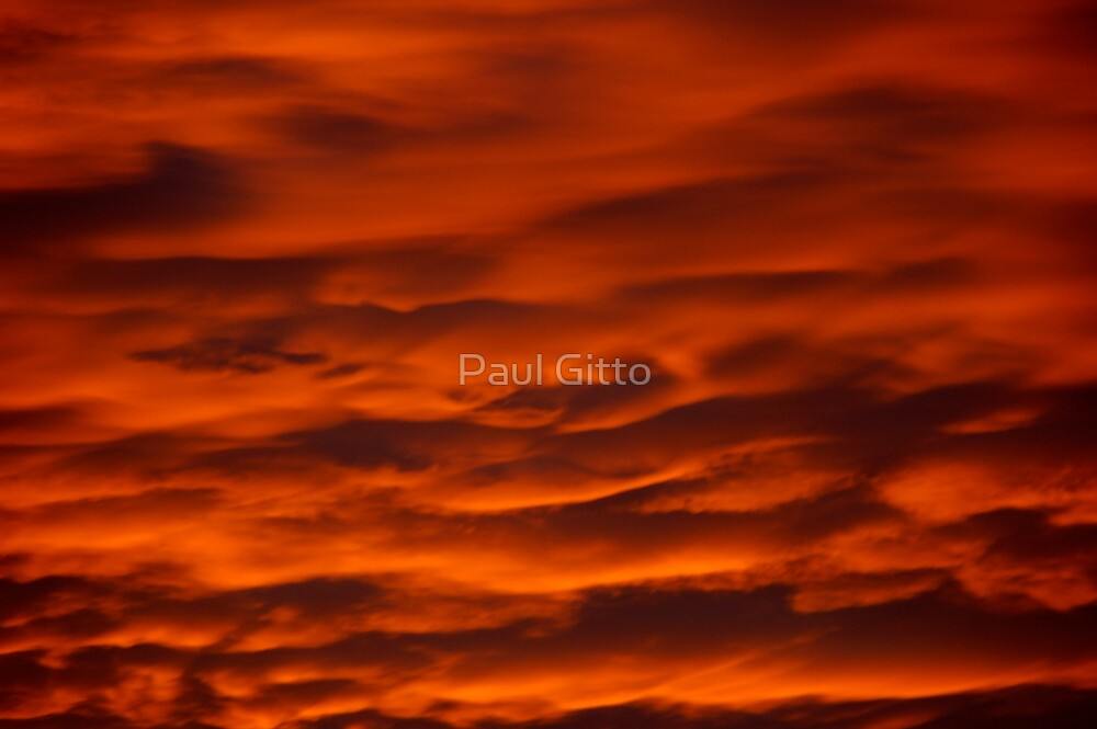 Red at Night by Paul Gitto