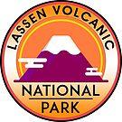 LASSEN VOLCANIC NATIONAL PARK CALIFORNIA MOUNTAINS VOLCANO  by MyHandmadeSigns