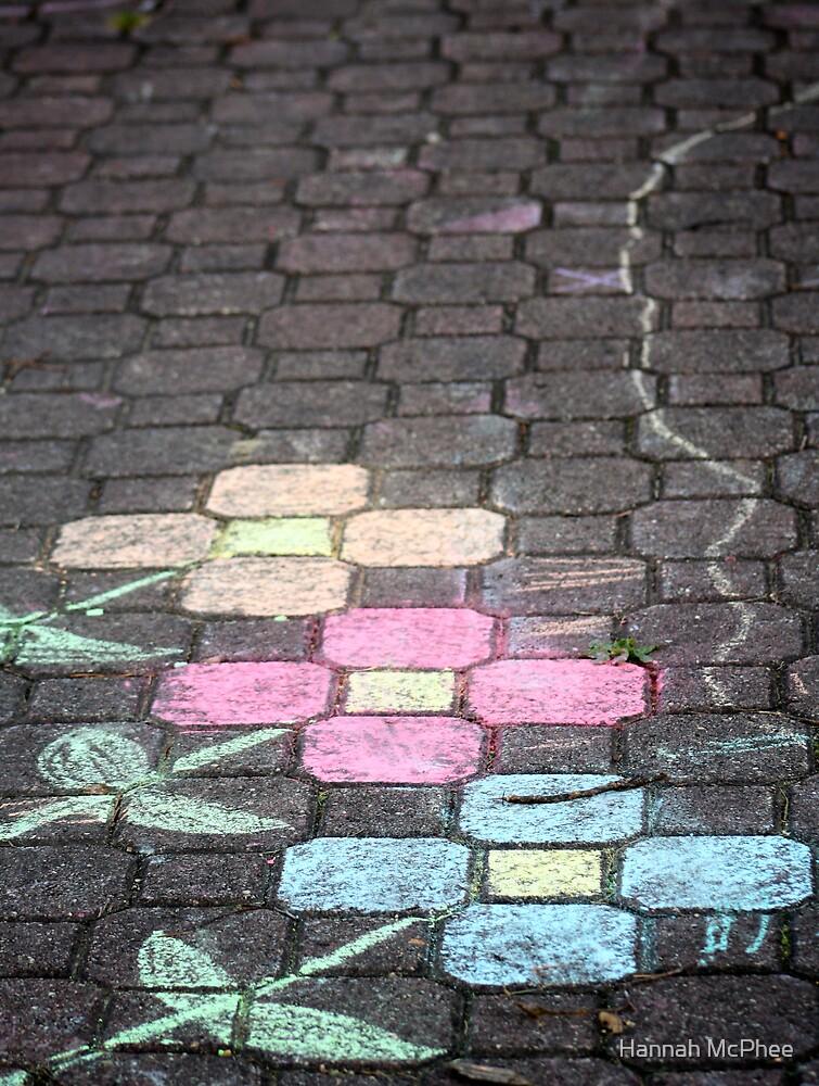 Chalk Flowers by Hannah McPhee