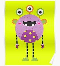 Long-legged Monster Poster