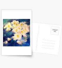 Bleu printanier Cartes postales