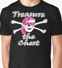 Treasure The Chest Breast Cancer Awareness  Graphic T-Shirt