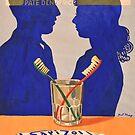 "« Vintage advertising poster ""Sarizol"" » par xyzebre"