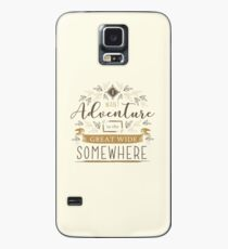Beauty And The Beast Quote Case/Skin for Samsung Galaxy