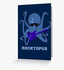 Rocktopus [BLUE] Greeting Card