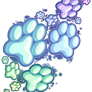 Scattered Pawpads by Taiinty