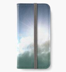 Cloudy Sun iPhone Wallet/Case/Skin