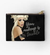 """Your makeup is terrible"" Alaska Thvnderfvck 5000 quote Studio Pouch"
