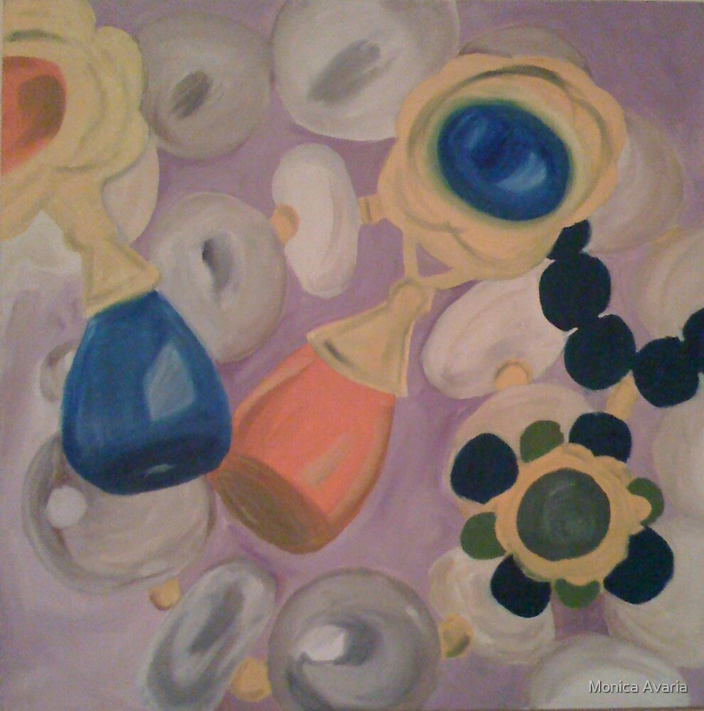 Pearls and all by Monica Avaria