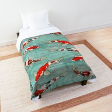 Le ballet des carpes koi Comforter