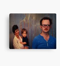 Wall Painting Canvas Print