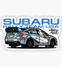 Rally Team Stickers Redbubble