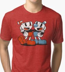 cuphead Tri-blend T-Shirt