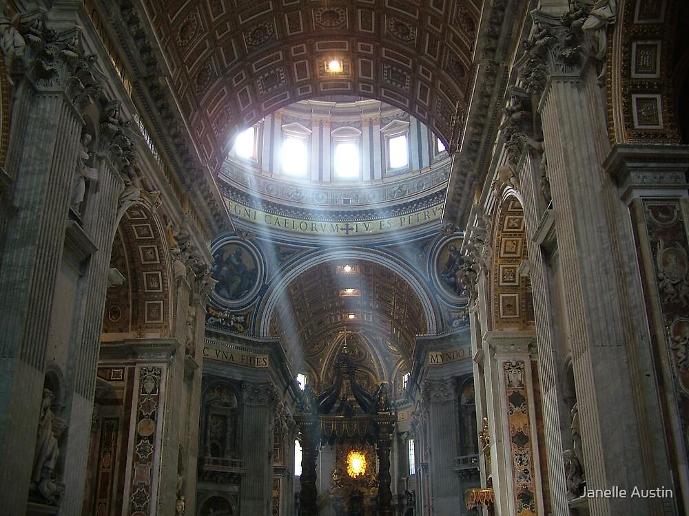 St. Peter's Basillica by Janelle Austin