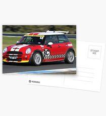Red Mini Postcards